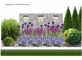 Aurea Garden - Projekty ogrodów nowoczesnych - Gorzów