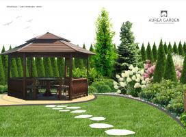 Aurea Garden - Ogród rodzinny - Zielona Góra