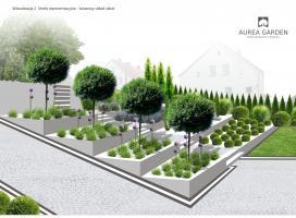 Aurea Garden - Projekty ogrodów - Kostrzyn