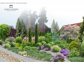 Aurea Garden - Projekt ogrodu - Szczecin