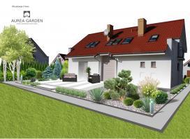 Aurea Garden - Projekty ogrodów nowoczesnych - Gorzów Wlkp