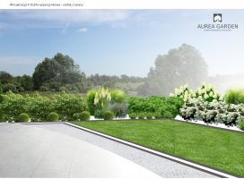 Aurea Garden - Ogród nowoczesny - Kostrzyn