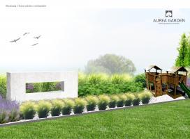 Aurea Garden - Ogród nowoczesny - Drezdenko