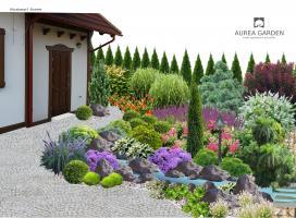 Aurea Garden - projekty ogrodów - Szczecin