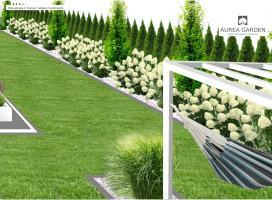 Aurea Garden - Projekty ogrodów - Wrocław