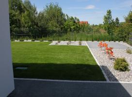 Ogród w Kłodawie k. Gorzowa Wlkp.