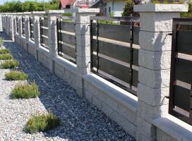 Ogrodzenie murowane Skała Lubuska
